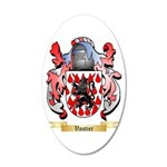 Vautier 20x12 Oval Wall Decal
