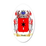 Vauth Oval Car Magnet