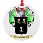 Vaughan English Round Ornament