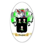 Vaughan English Sticker (Oval)