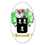 Vaughan English Sticker (Oval 50 pk)