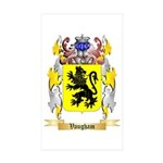 Vaugham Sticker (Rectangle 50 pk)