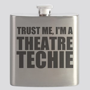 Trust Me, I'm A Theatre Techie Flask