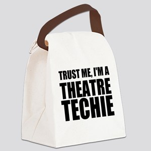 Trust Me, I'm A Theatre Techie Canvas Lunch Bag