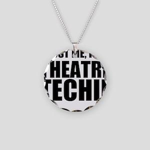 Trust Me, I'm A Theatre Techie Necklace