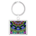 Abstract Decorative Pattern Keychains