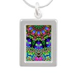 Abstract Decorative Pattern Necklaces