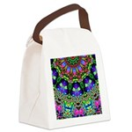 Abstract Decorative Pattern Canvas Lunch Bag