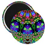 Abstract Decorative Pattern Magnets
