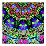 Abstract Decorative Pattern Square Car Magnet 3