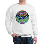 Abstract Decorative Pattern Sweatshirt