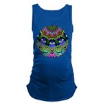 Abstract Decorative Pattern Maternity Tank Top