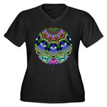 Abstract Decorative Pattern Plus Size T-Shirt