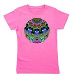 Abstract Decorative Pattern Girl's Tee