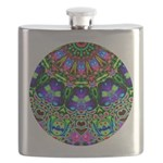 Abstract Decorative Pattern Flask
