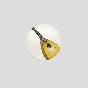 Music instrument mandolin Mini Button