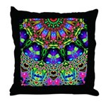 Abstract Decorative Pattern Throw Pillow