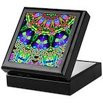 Abstract Decorative Pattern Keepsake Box