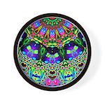 Abstract Decorative Pattern Wall Clock