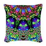 Abstract Decorative Pattern Woven Throw Pillow