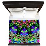Abstract Decorative Pattern King Duvet