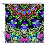 Abstract Decorative Pattern Shower Curtain
