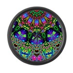 Abstract Decorative Pattern Large Wall Clock