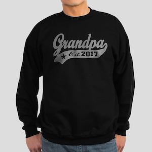 Grandpa Est. 2017 Sweatshirt (dark)