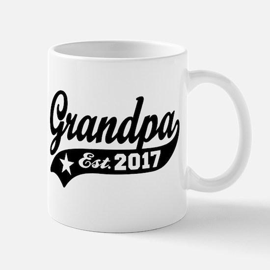 Grandpa Est. 2017 Mug