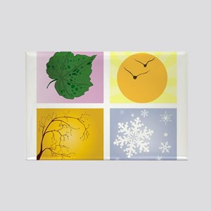 The Four Seasons Magnets