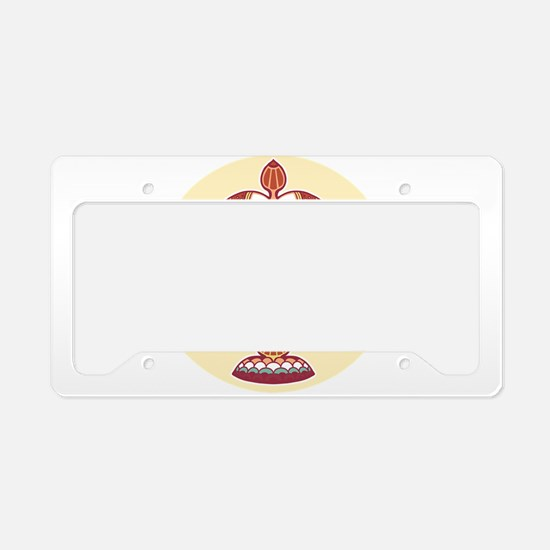 Libra zodiac sign License Plate Holder