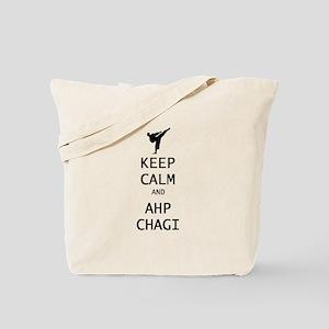 keep calm and ahp chagi Tote Bag