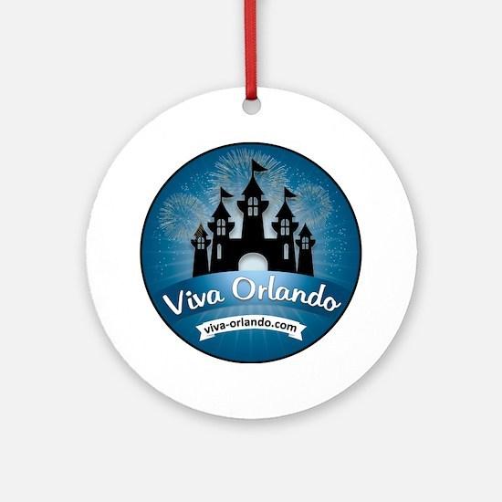 Funny Orlando Round Ornament