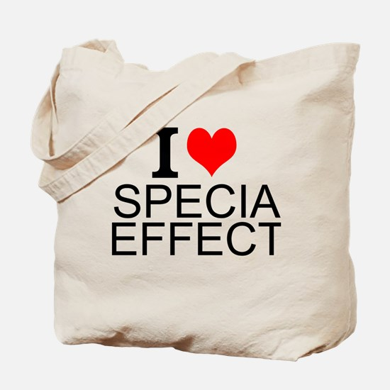 I Love Special Effects Tote Bag