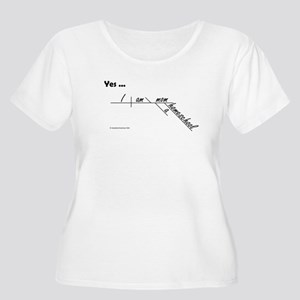 Homeschool Mo Women's Plus Size Scoop Neck T-Shirt