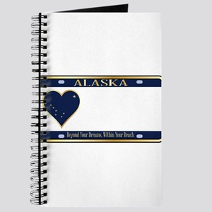 Alaska State License Plate Journal