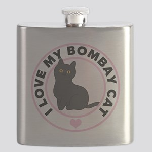 Bombay Cat Lover Flask