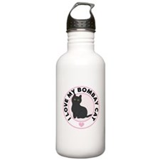 Bombay Cat Lover Stainless Water Bottle 1.0L