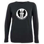 By Faith Clothing Logo Plus Size Long Sleeve Tee
