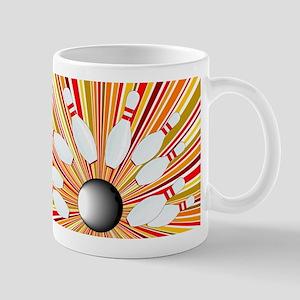 Ten Pin Splash Mugs