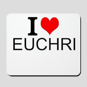 I Love Euchre Mousepad