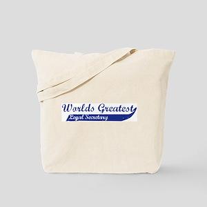Greatest Legal Secretary Tote Bag