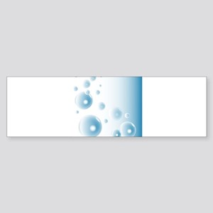 Water Bubbles Bumper Sticker
