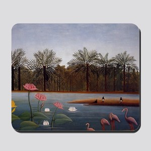 The Flamingos Mousepad