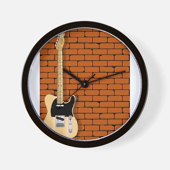 Guitar Wall Wall Clock