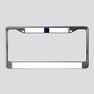 Falling Star License Plate Frame