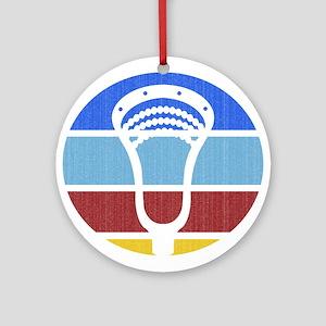 Lacrosse TP03 Round Ornament