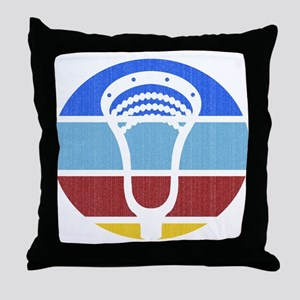 Lacrosse TP03 Throw Pillow