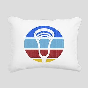 Lacrosse TP03 Rectangular Canvas Pillow