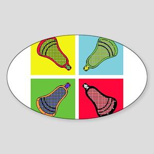 Lacrosse Neon4 Sticker